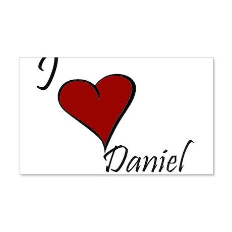 I love Daniel 22x14 Wall Peel