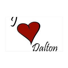 I love Dalton 38.5 x 24.5 Wall Peel