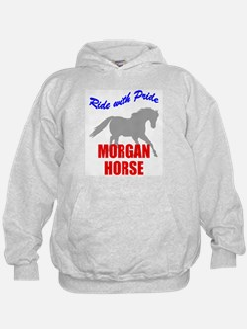 Ride With Pride Morgan Horse Hoodie
