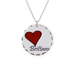 I love Brittany Necklace