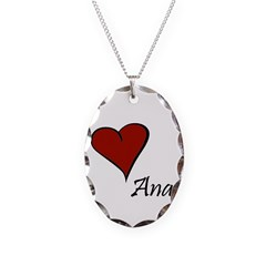 I love Ana Necklace