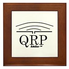 Cute Qrp Framed Tile