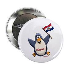 """Missouri Penguin 2.25"""" Button"""
