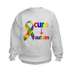 Cure Autism Kids Sweatshirt