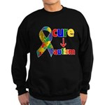 Cure Autism Sweatshirt (dark)