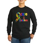 Cure Autism Long Sleeve Dark T-Shirt