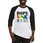 Hope Love Cure Autism Baseball Jersey