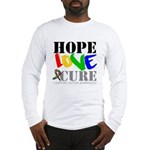 Hope Love Cure Autism Long Sleeve T-Shirt