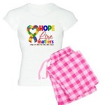 Hope Love Matters Autism Women's Light Pajamas