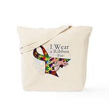 For Hope - Autism Ribbon Tote Bag