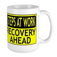 Steps At Work Recovery Ahead Mug