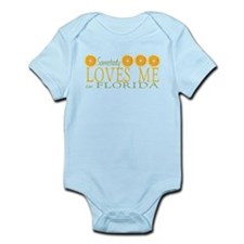 Somebody Loves Me in Florida Infant Bodysuit