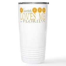 Somebody Loves Me in Florida Travel Mug