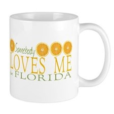 Somebody Loves Me in Florida Mug