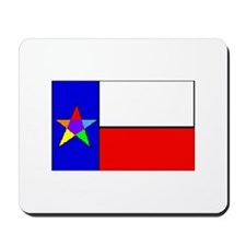 Rainbow Lone Star State - Mousepad