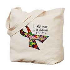For My Daughter - Autism Tote Bag