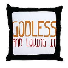 Godless Throw Pillow