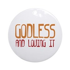 Godless Ornament (Round)