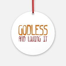 Godless Ornament (Round)