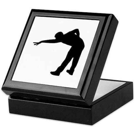 Billiards player Keepsake Box