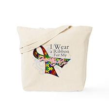 Granddaughter Autism Tote Bag