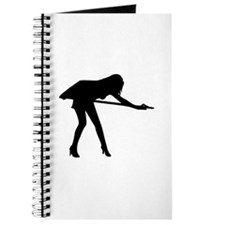 Billiards woman Journal