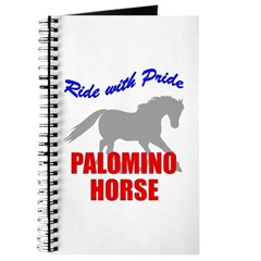 Ride With Pride Palomino Horse Journal