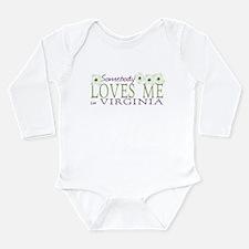 Somebody Loves Me in Virginia Long Sleeve Infant B