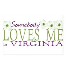 Somebody Loves Me in Virginia Postcards (Package o