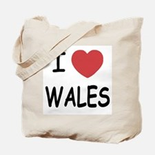 I heart Wales Tote Bag