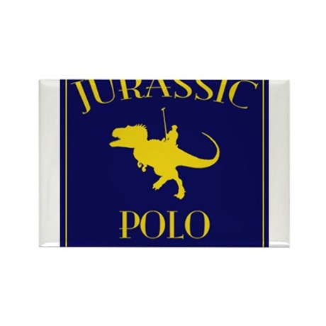 JURASSIC POLO Rectangle Magnet (10 pack)