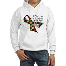 For My Son Autism Ribbon Hoodie