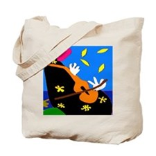 Abstract Cello, or Violin Tote Bag