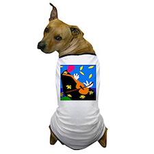 Abstract Cello, or Violin Dog T-Shirt