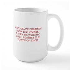 thor drink red Mugs