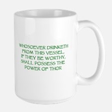 thor drink green Mugs