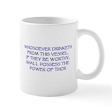 thor drink blue Mugs