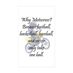 Why Motocross? Decal