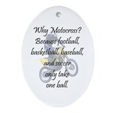 Basketball ball Oval Ornaments