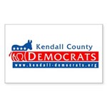 KCDCC Sticker (Rectangle 10 pk)