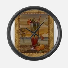 Unique Barbeque Large Wall Clock