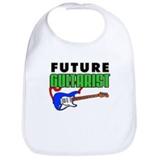 Future Guitarist Blue Guitar Bib