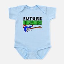 Future Guitarist Blue Guitar Infant Bodysuit