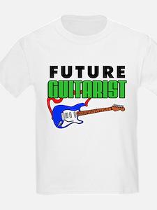 Future Guitarist Blue Guitar T-Shirt