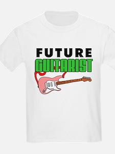 Future Guitarist Pink Guitar T-Shirt