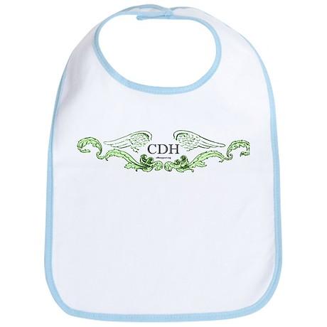 Green CDH Awareness Wings Bib