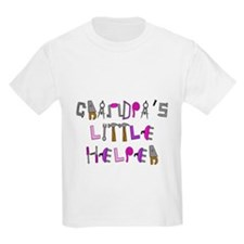 Grandpas Little Helper T-Shirt