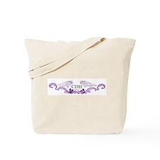 Purple CDH Awareness Wings Tote Bag