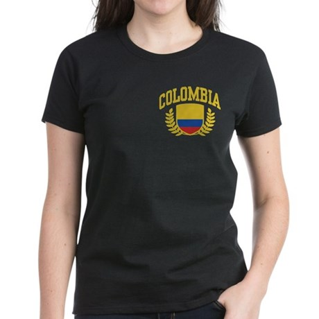 Colombia Women's Dark T-Shirt