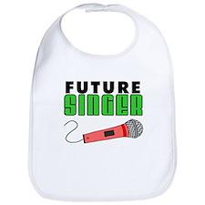 Future Singer Pink Microphone Bib